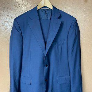 CANALI 1934 Blue Travel Suit 42 R